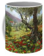 Andalucian Olive Grove Coffee Mug