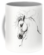 Andalusian Horse Drawing 1 Coffee Mug