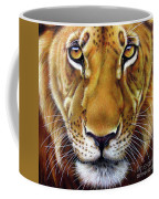 Andre Lion Coffee Mug by Jurek Zamoyski