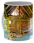 Andrew Berg's Homestead Cabin At Kenai National Wildlife Refuge In Soldotna-alaska Coffee Mug
