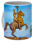 Andrew Jackson - Paint Coffee Mug