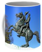 Andrew Jackson Raising His Hat Coffee Mug