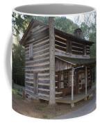 Andrew Logan Log Cabin Ninety Six National Historic Site Coffee Mug