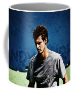 Andy Murray Coffee Mug by Nishanth Gopinathan