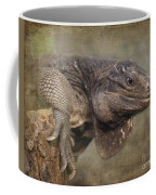 Anegada Ground Iguana - Houston Zoo Coffee Mug