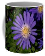 Anemone Blanda Blue Coffee Mug