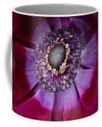 Anemone Coronaria  Macro Coffee Mug