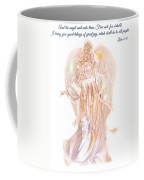 Angel Christmas Card Coffee Mug