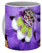 Angel Face Blue - With Extra Petals And 3 Stamen Coffee Mug