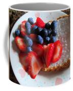 Angel Food And The Berries Coffee Mug