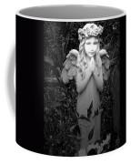Angel In Black And White Coffee Mug