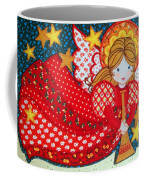 Angel In Red Coffee Mug