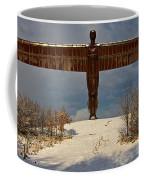 Angel In The Snow II Coffee Mug