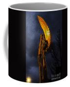 Angel Of The Morning Textured Coffee Mug