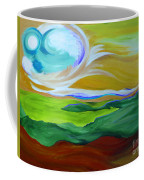 Angel Sky Green By Jrr Coffee Mug