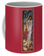 Angel Stained Glass Window Coffee Mug by Thomas Woolworth