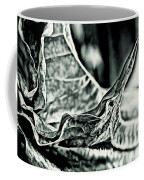 Angel Wing Variation Black White Coffee Mug