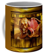 Angel With Floral On Clouds Coffee Mug