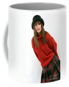 Angela Plaid Skirt Coffee Mug