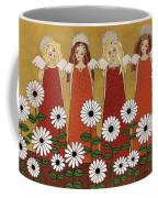Angels And Dasies Coffee Mug