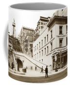 Angel's Flight Railway Los Angeles California  Circa 1908 Coffee Mug