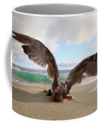 Angels- For The Lord Himself Will Descend From Heaven With A Shout Coffee Mug