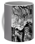 Angels In Gothica Bw Coffee Mug