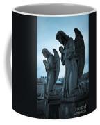Angels In Prayer Coffee Mug by Amy Cicconi