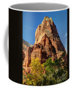 Angel's Landing In Fall - Zion National Park  Coffee Mug