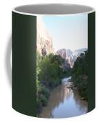 Angels Landing - Virgin River - Zion Np Coffee Mug