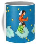 Angels Play Coffee Mug by Sarah Batalka