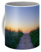Angelsea Beach Path Before Sunrise Coffee Mug