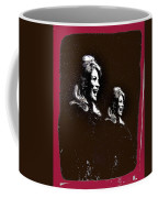 Angie Dickinson Laughing Collage Young Billy Young Set Old Tucson Arizona 1968-2013 Coffee Mug