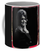 Angie Dickinson Smiling Young Billy Young Set Old Tucson Arizona 1968-2013 Coffee Mug