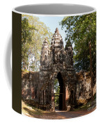 Angkor Thom North Gate 02 Coffee Mug