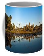 Angkor Wat At Sunset - Cambodia Coffee Mug