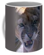 Angry Florida Panther Coffee Mug