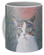 Anguish Of A Cat Coffee Mug