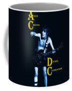 Angus Creates Decibel Celebrations In Blue Coffee Mug