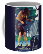 Angus Young Of A C D C At Day On The Green Monsters Of Rock Coffee Mug