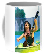 Angus Young Of A C D C At Day On The Green Monsters Of Rock  7-21-79  Coffee Mug