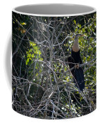 Anhinga In Brush Coffee Mug