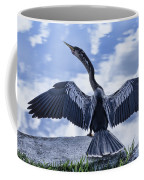 Anhinga Take Off Coffee Mug