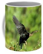 Anhinga Taking Off Coffee Mug