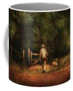 Animal - Dog - A Man And His Best Friend Coffee Mug