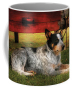 Animal - Dog - Always Faithful Coffee Mug by Mike Savad