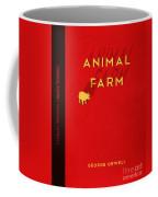 Animal Farm Book Cover Poster Art 2 Coffee Mug