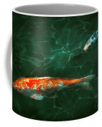 Animal - Fish - Koi - Another Fish Story Coffee Mug by Mike Savad