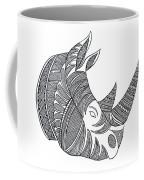 Animal Head Hippo Coffee Mug