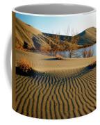 Animal Tracks In The Sand Coffee Mug